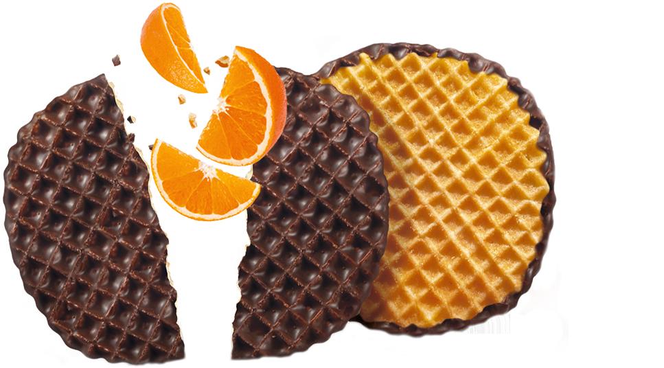 Bolacha chocolate com laranja
